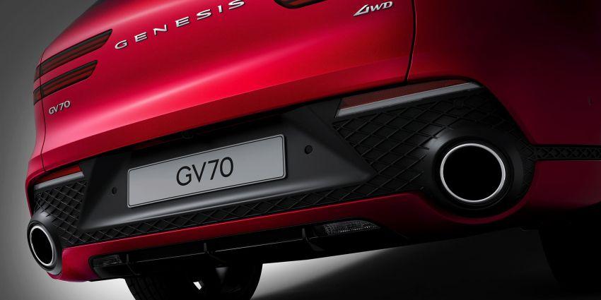 Genesis GV70 makes its full debut – Smartstream turbo engines; semi-autonomous tech; Sport package Image #1221745