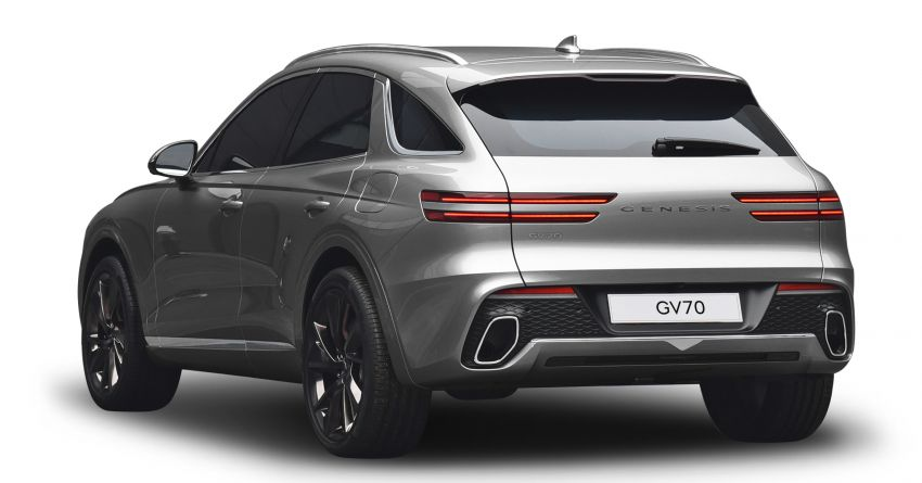 Genesis GV70 makes its full debut – Smartstream turbo engines; semi-autonomous tech; Sport package Image #1221738