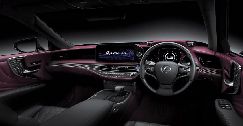 2021 Lexus LS facelift launched in Thailand – four variants offered; priced from RM1.556-2.140 million Image #1219630
