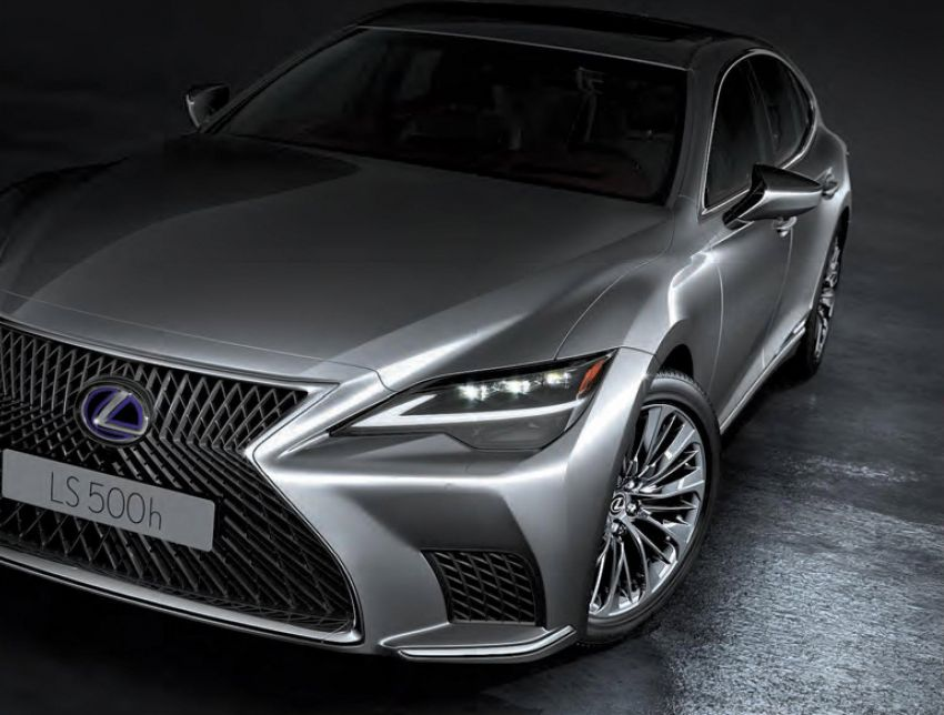 2021 Lexus LS facelift launched in Thailand – four variants offered; priced from RM1.556-2.140 million Image #1219620