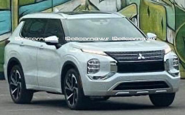 2021 Mitsubishi Outlander – fourth-gen SUV leaked Image #1222629