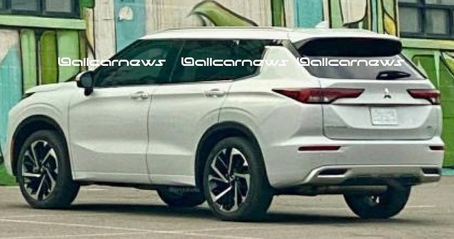 2021 Mitsubishi Outlander – fourth-gen SUV leaked Image #1222630