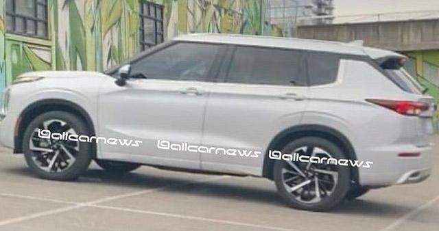 2021 Mitsubishi Outlander – fourth-gen SUV leaked Image #1222631