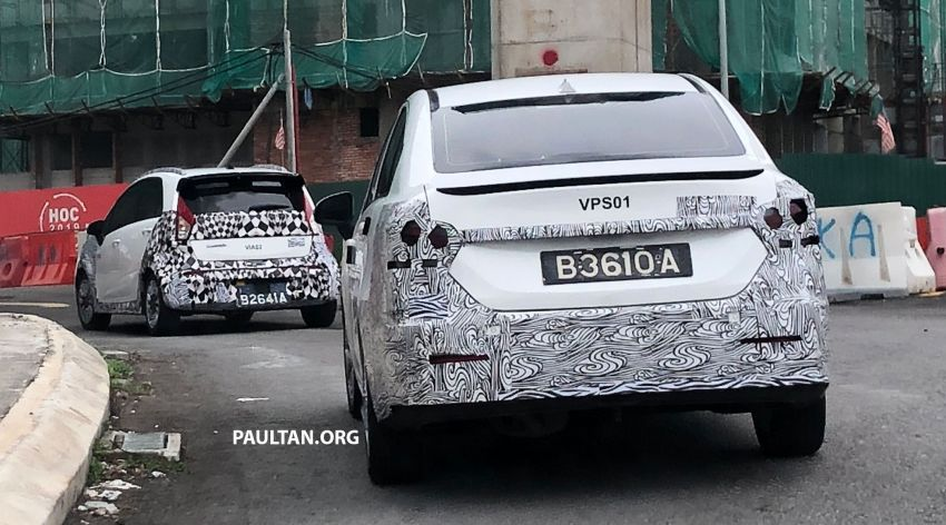 SPYSHOTS: 2021 Proton Persona with LED taillights, Iriz with crossover styling – both to swap CVT for 4AT? Image #1219402