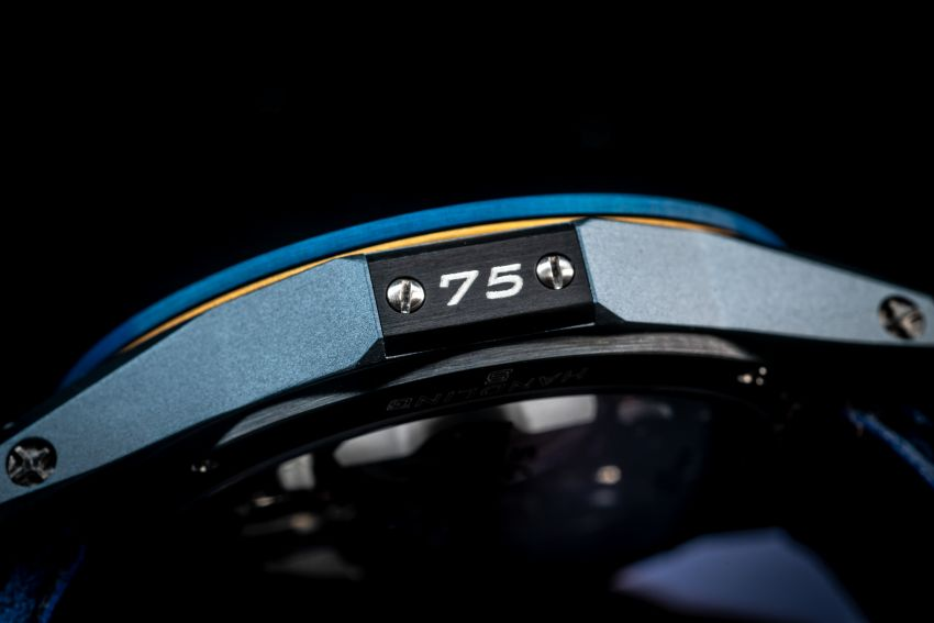 75th Anniversary MV Agusta RMV wristwatch by RO-NI – in limited edition of 75 units worldwide, RM277,245 Image #1227660