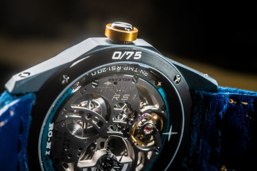 75th Anniversary MV Agusta RMV wristwatch by RO-NI – in limited edition of 75 units worldwide, RM277,245 Image #1227661