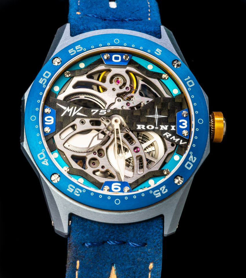75th Anniversary MV Agusta RMV wristwatch by RO-NI – in limited edition of 75 units worldwide, RM277,245 Image #1227662