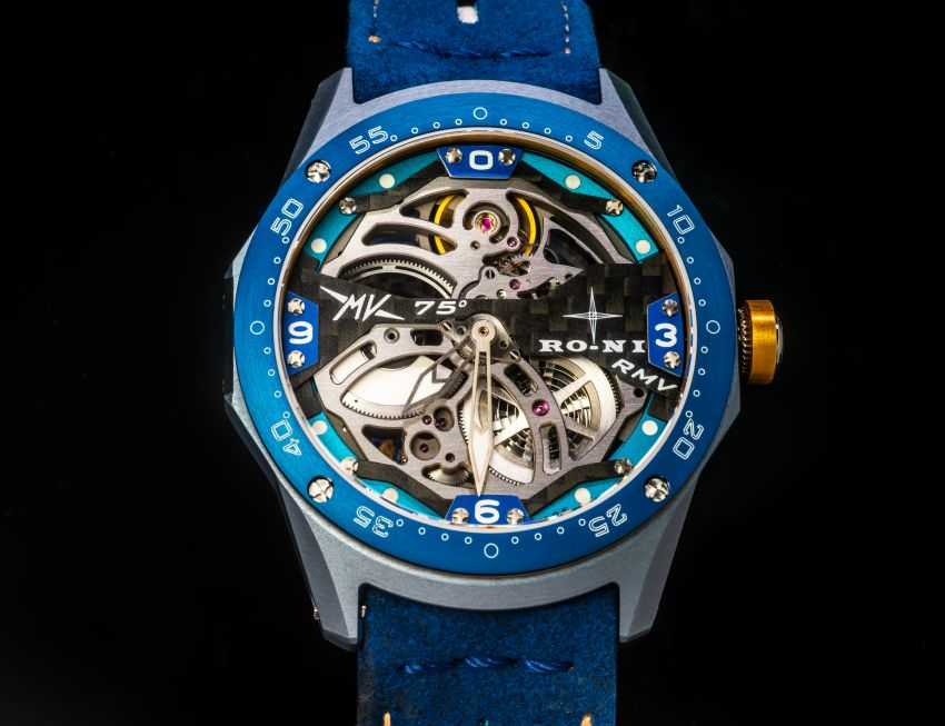 75th Anniversary MV Agusta RMV wristwatch by RO-NI – in limited edition of 75 units worldwide, RM277,245 Image #1227663