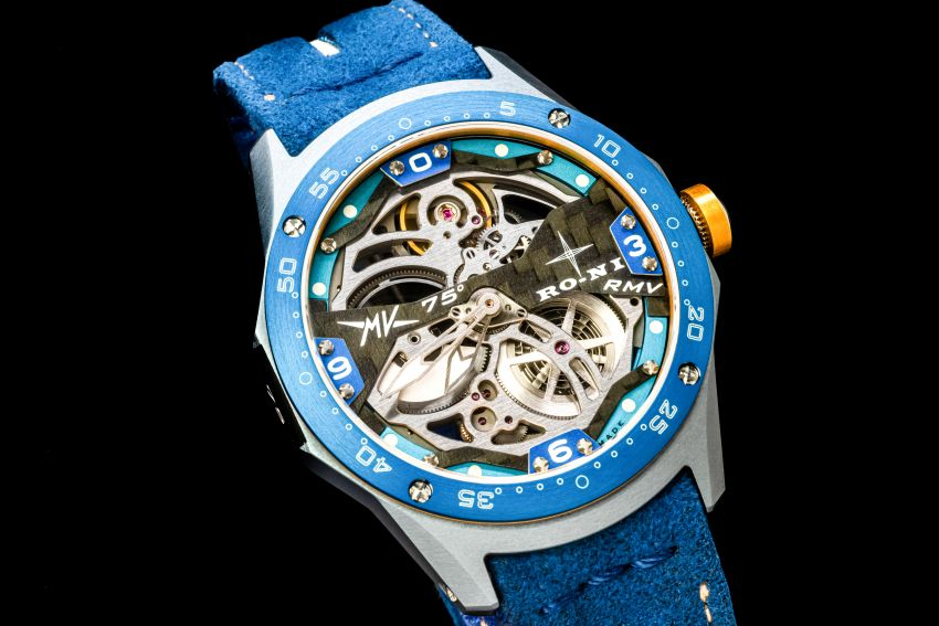 75th Anniversary MV Agusta RMV wristwatch by RO-NI – in limited edition of 75 units worldwide, RM277,245 Image #1227664