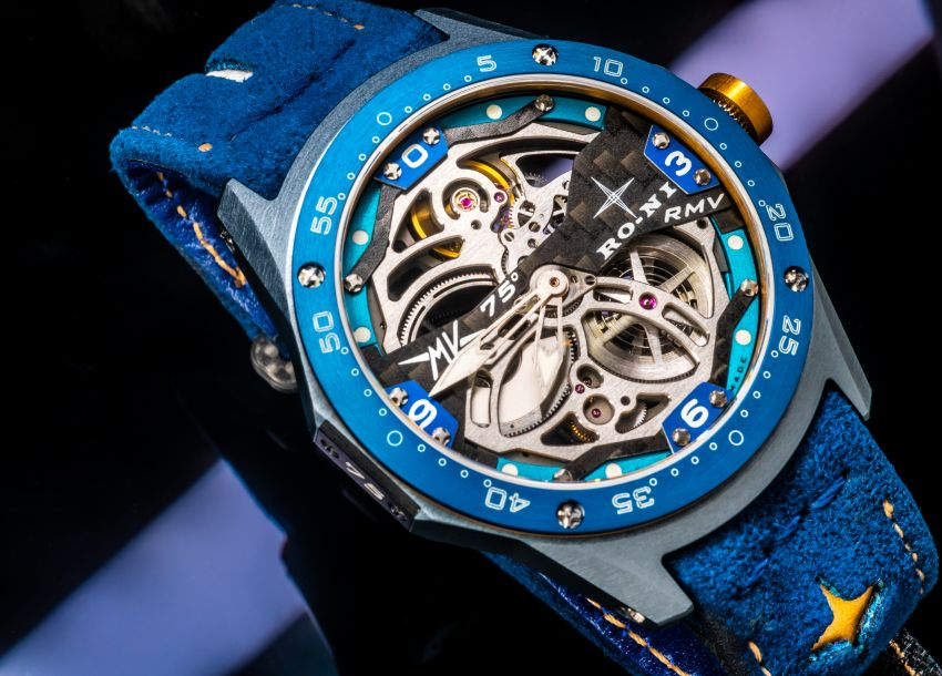 75th Anniversary MV Agusta RMV wristwatch by RO-NI – in limited edition of 75 units worldwide, RM277,245 Image #1227665