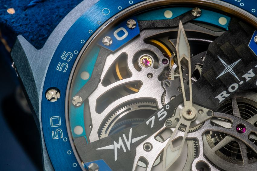 75th Anniversary MV Agusta RMV wristwatch by RO-NI – in limited edition of 75 units worldwide, RM277,245 Image #1227667
