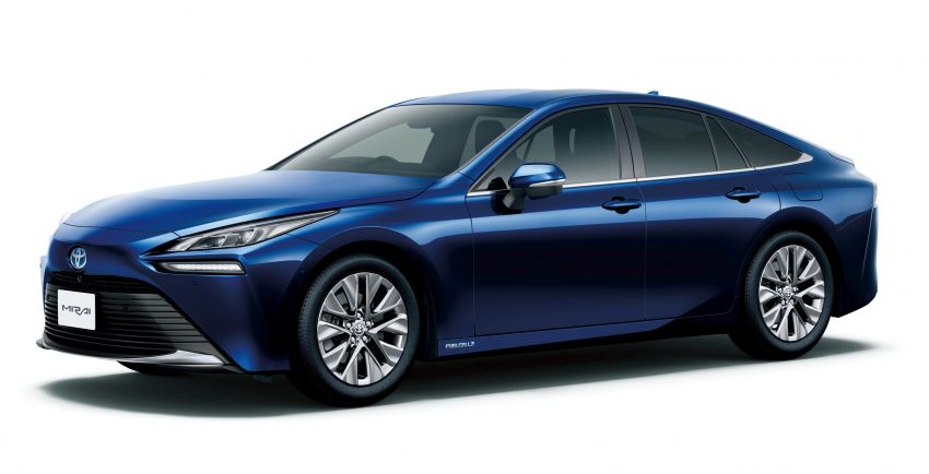 2021 Toyota Mirai launched in Japan, priced fr. RM277k Image #1222516