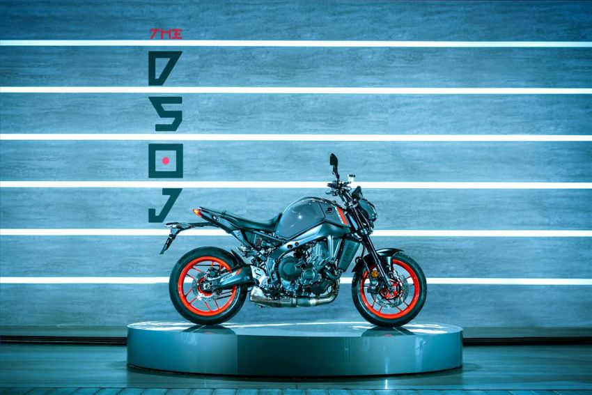 2021 Yamaha MT-09 – creating the sound of darkness Image #1225923