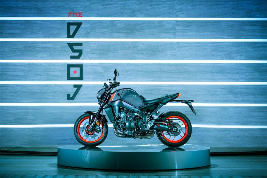 2021 Yamaha MT-09 – creating the sound of darkness Image #1225924