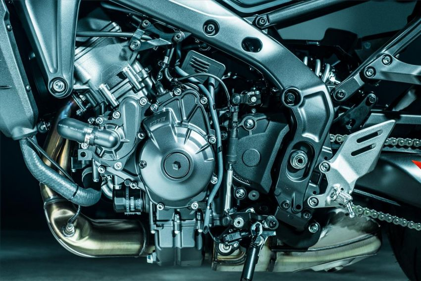 2021 Yamaha MT-09 – creating the sound of darkness Image #1225928