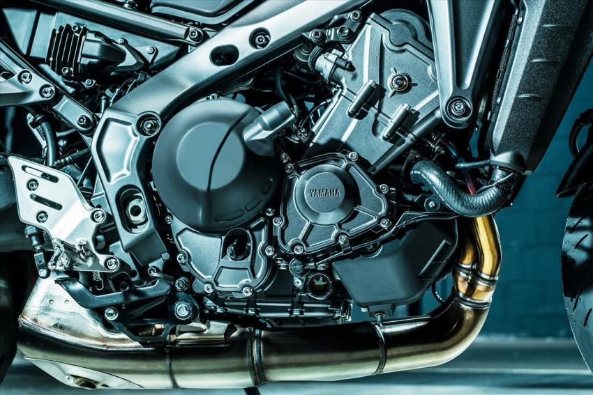 2021 Yamaha MT-09 – creating the sound of darkness Image #1225929