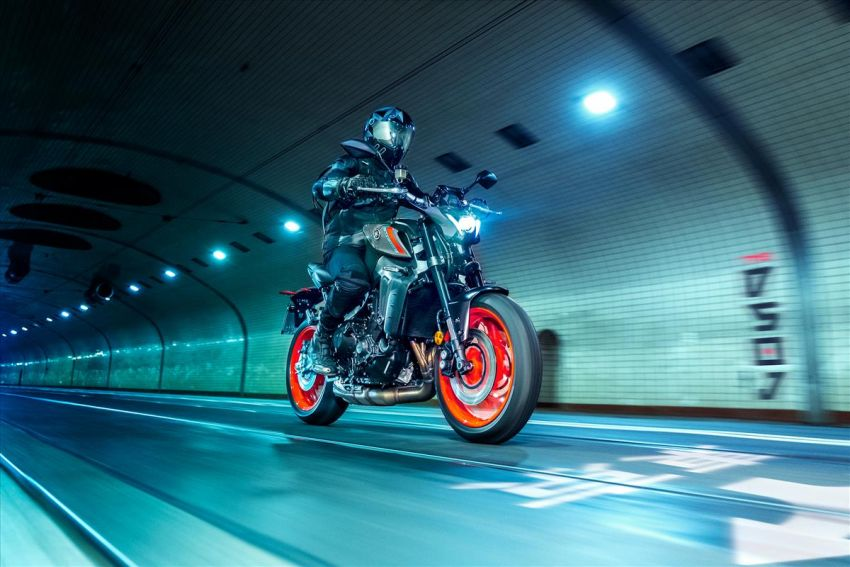 2021 Yamaha MT-09 – creating the sound of darkness Image #1225948
