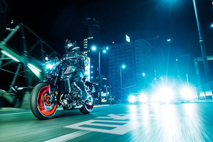 2021 Yamaha MT-09 – creating the sound of darkness Image #1225918