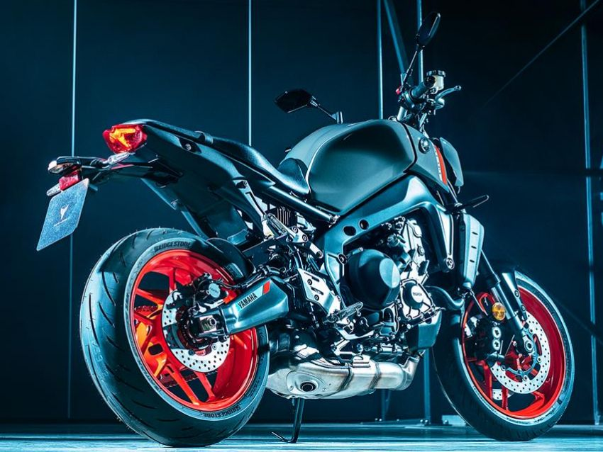 2021 Yamaha MT-09 – creating the sound of darkness Image #1225921
