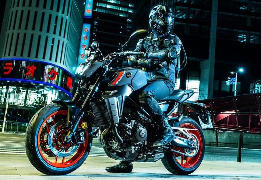 2021 Yamaha MT-09 – creating the sound of darkness Image #1225922
