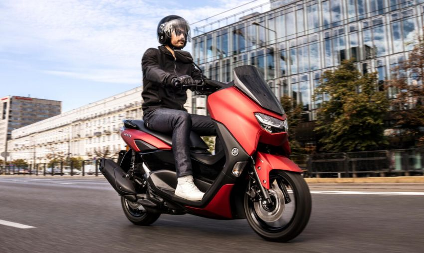 2021 Yamaha NMax 155 scooter in Malaysia, RM8,998 Image #1219108