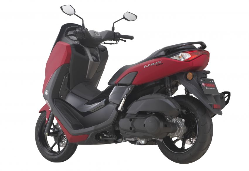 2021 Yamaha NMax 155 scooter in Malaysia, RM8,998 Image #1219084
