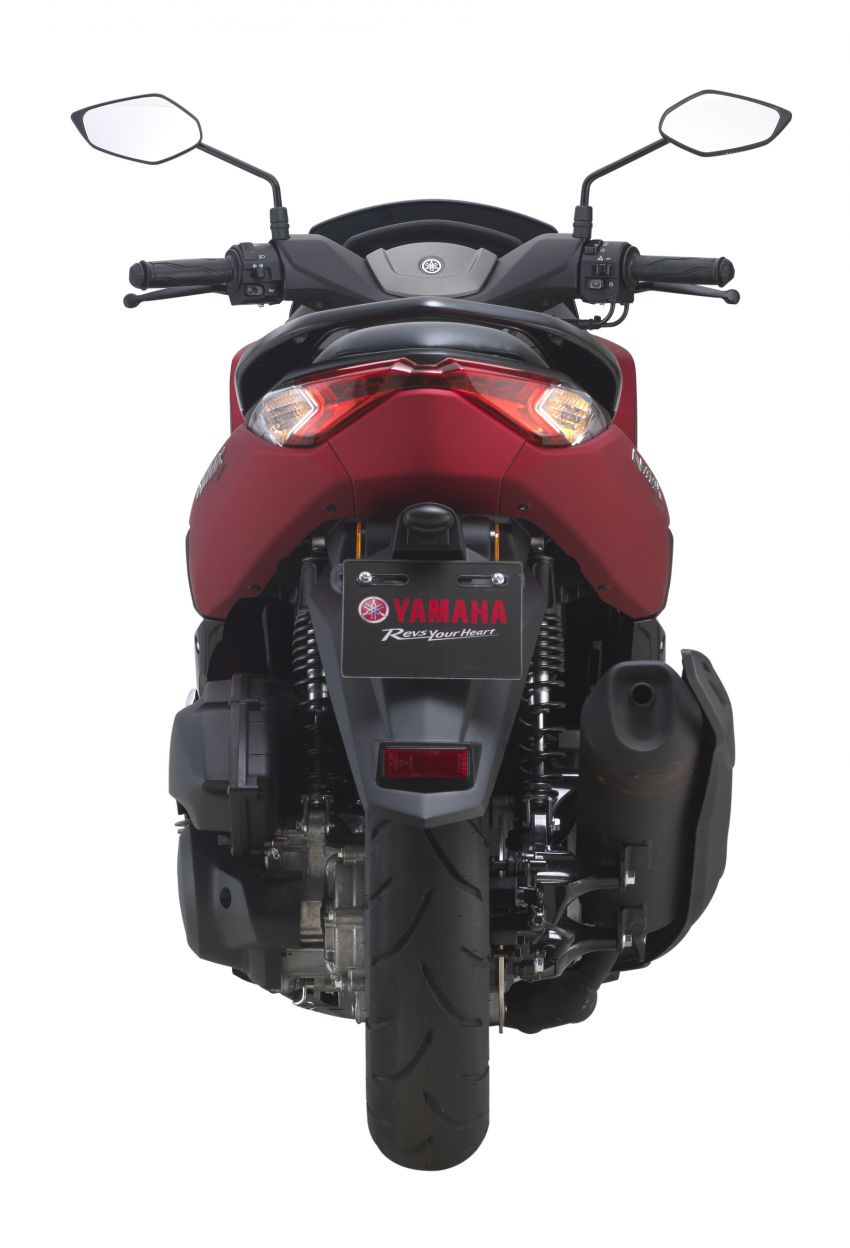 2021 Yamaha NMax 155 scooter in Malaysia, RM8,998 Image #1219085