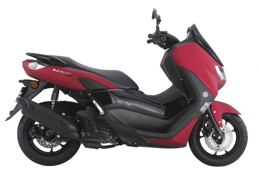 2021 Yamaha NMax 155 scooter in Malaysia, RM8,998 Image #1219087