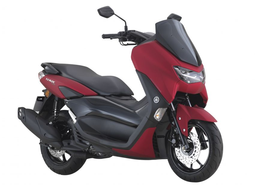 2021 Yamaha NMax 155 scooter in Malaysia, RM8,998 Image #1219088