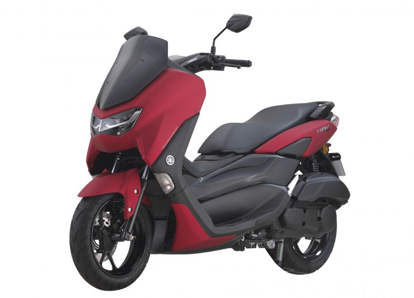 2021 Yamaha NMax 155 scooter in Malaysia, RM8,998 Image #1219090