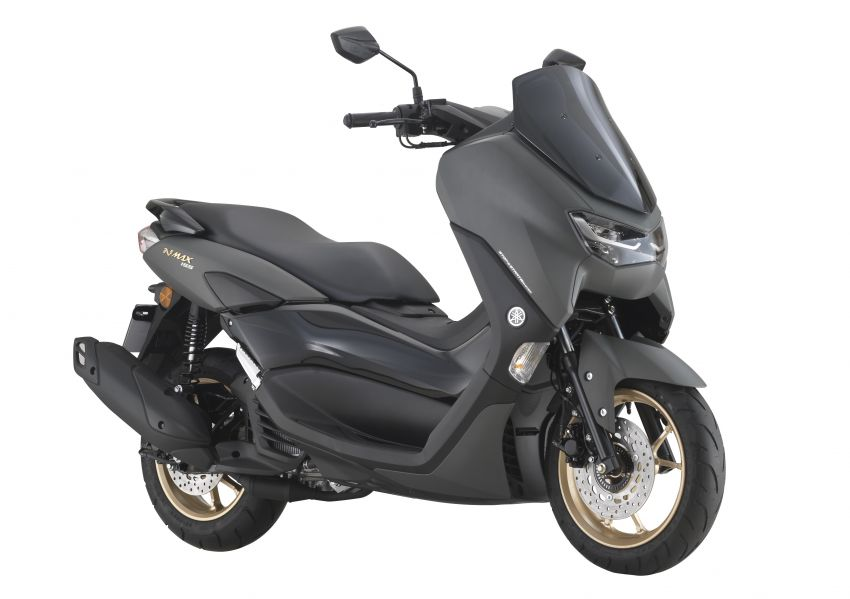 2021 Yamaha NMax 155 scooter in Malaysia, RM8,998 Image #1219097