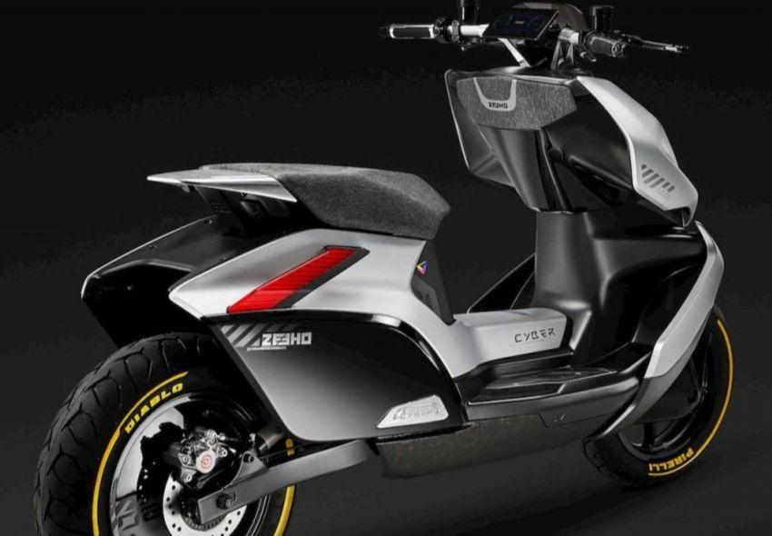 CFMoto launches Zeeho electric motorcycle brand Image #1224105