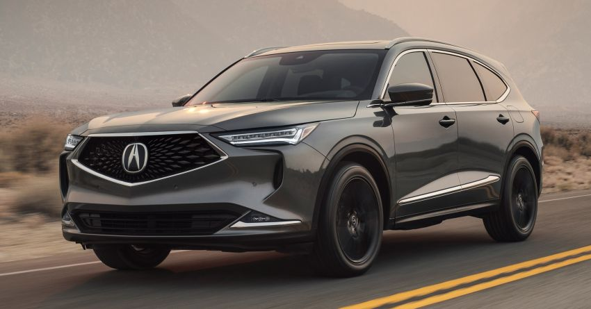 2022 Acura MDX debuts – all-new three-row SUV gets new chassis, 3.5L V6 and tech; Type S to arrive later Image #1222059