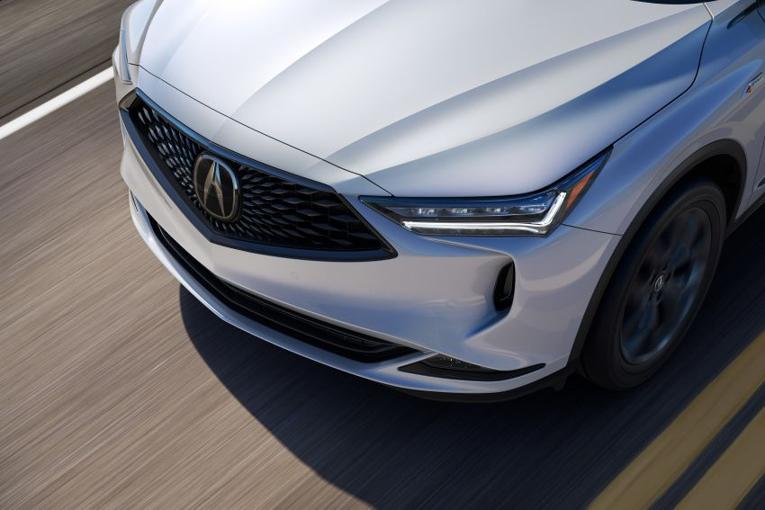 2022 Acura MDX debuts – all-new three-row SUV gets new chassis, 3.5L V6 and tech; Type S to arrive later Image #1222068