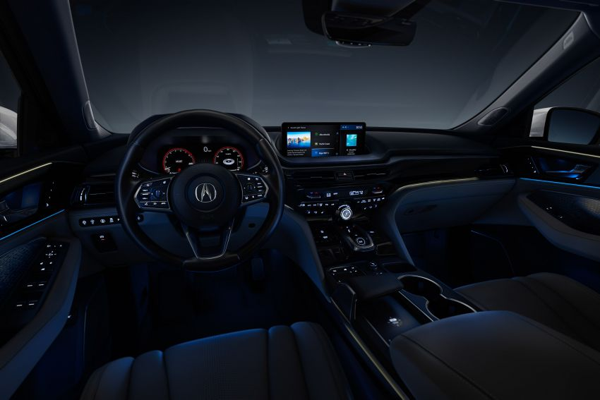 2022 Acura MDX debuts – all-new three-row SUV gets new chassis, 3.5L V6 and tech; Type S to arrive later Image #1222073