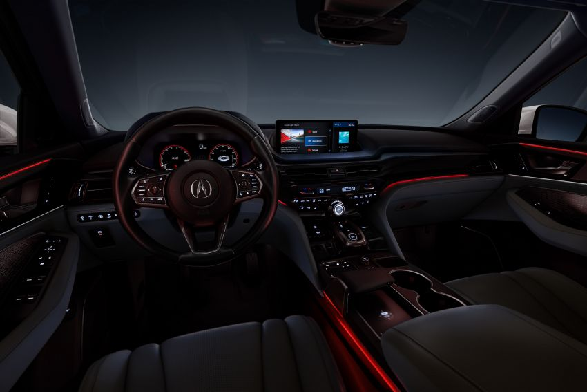 2022 Acura MDX debuts – all-new three-row SUV gets new chassis, 3.5L V6 and tech; Type S to arrive later Image #1222074
