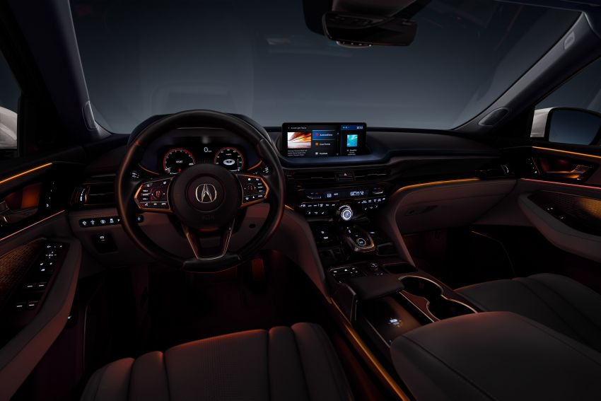 2022 Acura MDX debuts – all-new three-row SUV gets new chassis, 3.5L V6 and tech; Type S to arrive later Image #1222075