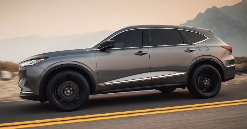 2022 Acura MDX debuts – all-new three-row SUV gets new chassis, 3.5L V6 and tech; Type S to arrive later Image #1222060