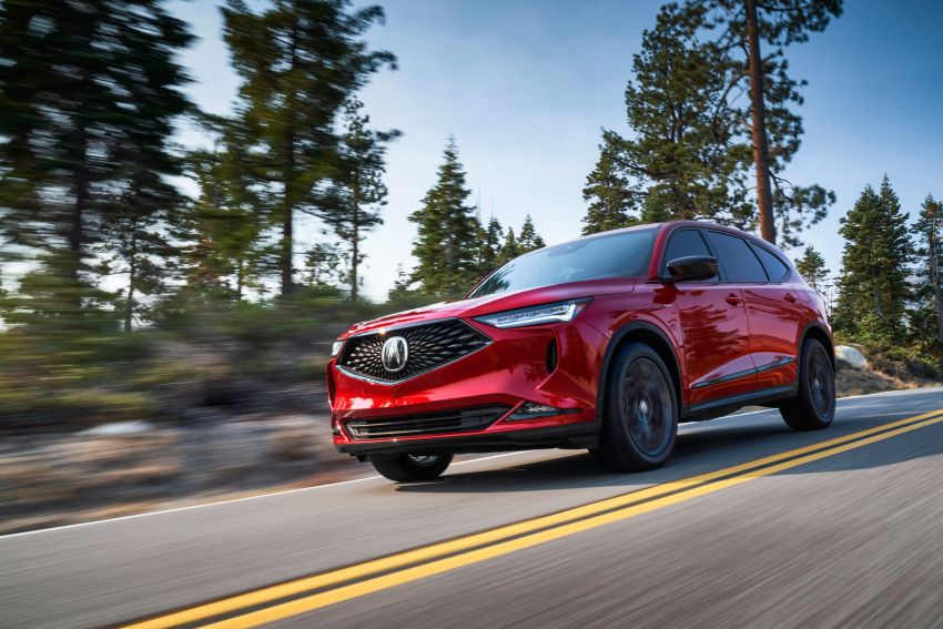 2022 Acura MDX debuts – all-new three-row SUV gets new chassis, 3.5L V6 and tech; Type S to arrive later Image #1222061