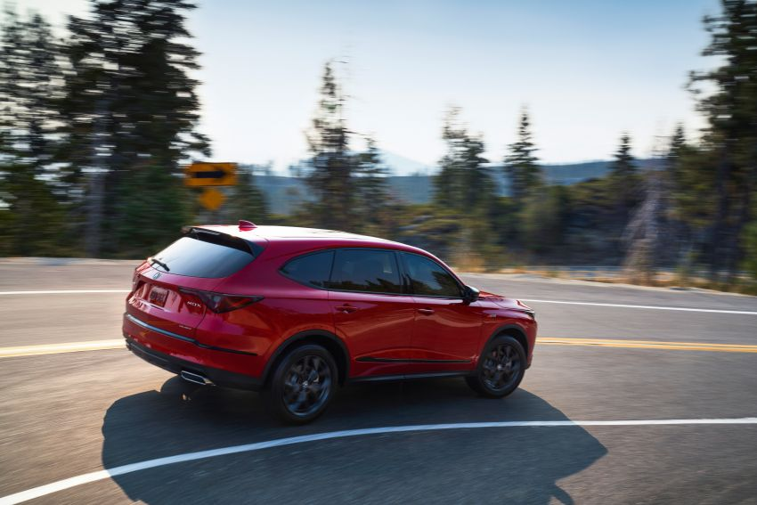 2022 Acura MDX debuts – all-new three-row SUV gets new chassis, 3.5L V6 and tech; Type S to arrive later Image #1222062