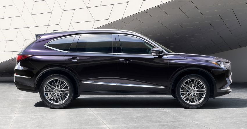 2022 Acura MDX debuts – all-new three-row SUV gets new chassis, 3.5L V6 and tech; Type S to arrive later Image #1222064