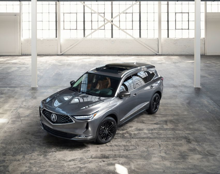 2022 Acura MDX debuts – all-new three-row SUV gets new chassis, 3.5L V6 and tech; Type S to arrive later Image #1222065