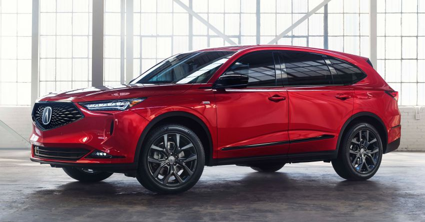 2022 Acura MDX debuts – all-new three-row SUV gets new chassis, 3.5L V6 and tech; Type S to arrive later Image #1222066
