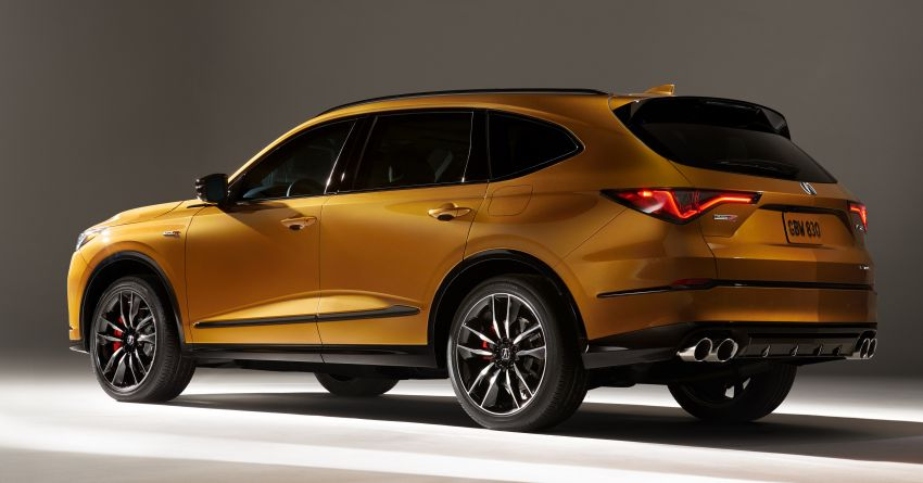 2022 Acura MDX debuts – all-new three-row SUV gets new chassis, 3.5L V6 and tech; Type S to arrive later Image #1222067