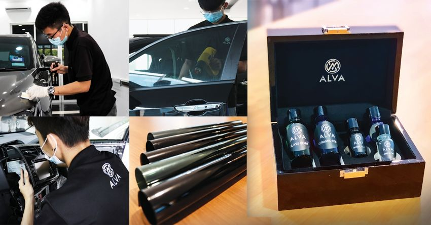 AD: ALVA Concept Store – one-stop outlet for window tint, coating, body and paint, wrap and maintenance Image #1230100