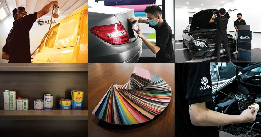 AD: ALVA Concept Store – one-stop outlet for window tint, coating, body and paint, wrap and maintenance Image #1230099