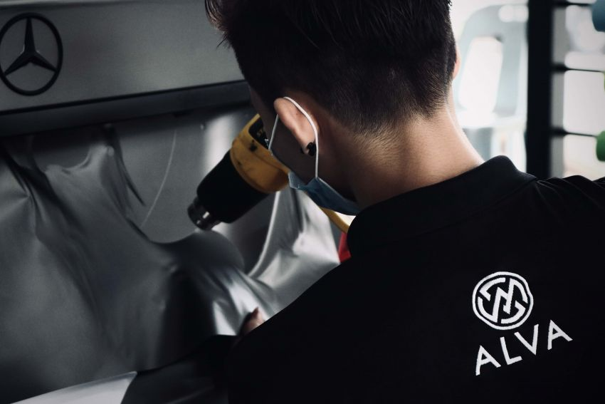 AD: ALVA Concept Store – one-stop outlet for window tint, coating, body and paint, wrap and maintenance Image #1230091