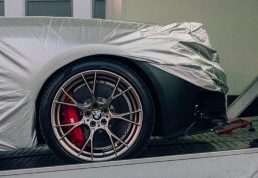 BMW M5 CS teased – 635 hp, 70 kg lighter, four seats Image #1229655