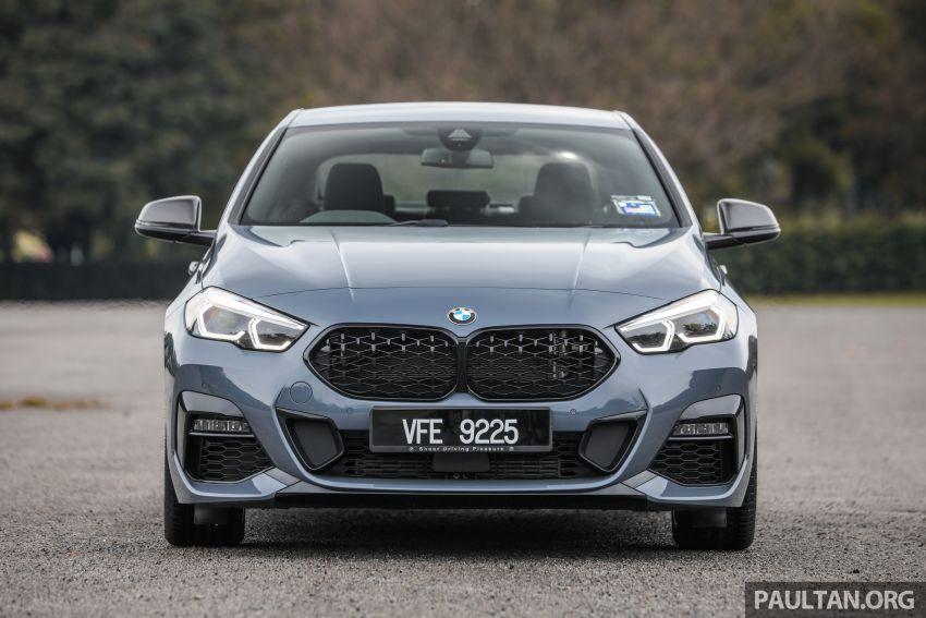 GALLERY: F44 BMW 218i Gran Coupé vs V177 Mercedes-Benz A200 Sedan – compact sedan rivals Image #1229772
