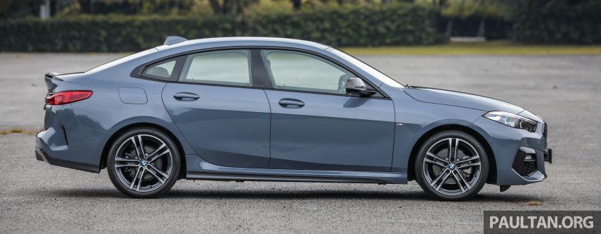 GALLERY: F44 BMW 218i Gran Coupé vs V177 Mercedes-Benz A200 Sedan – compact sedan rivals Image #1229775